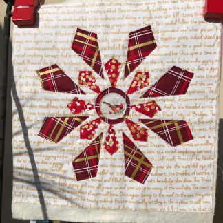 Quilted Snowflake Block
