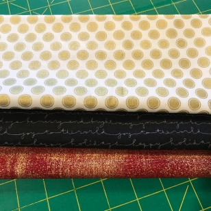 Santa's Belt Fabric Pull