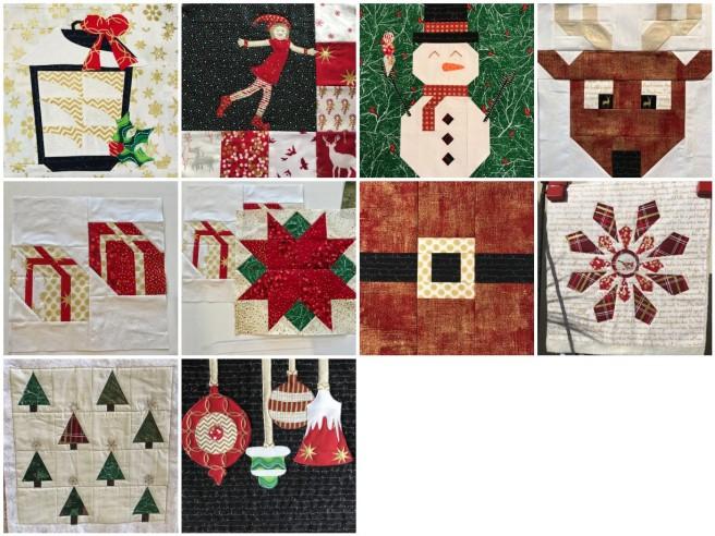Mosaic Blocks 1-10